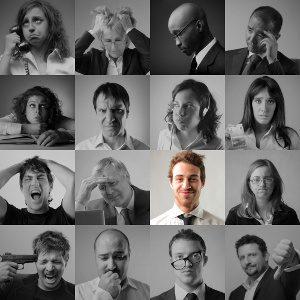 Facial Expressions - © olly - Fotolia.com