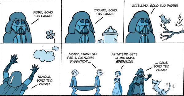 Darth Vader - Disturbo di identità - Autore: Costanza Prinetti