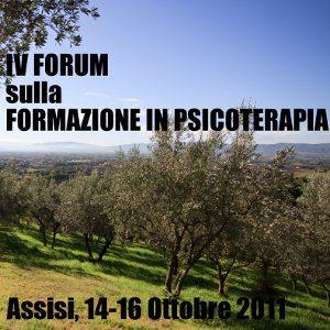 IV Forum sulla Formazione in Psicoterapia - Assisi 14-16 Ottobre 2011 -Copyright immagine: © Roberto Zocchi - Fotolia.com