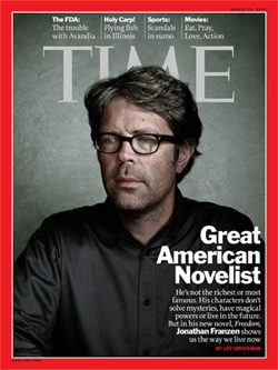 Jonathan Franzen - Cover of TIME