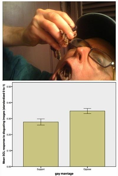 """Figure 1 - Licenza d'uso: Creative Commons - Retrievable from: """"Disgust Sensitivity and the Neurophysiology of Left-Right Political Orientations"""" - http://www.plosone.org/article/info%3Adoi%2F10.1371%2Fjournal.pone.0025552"""