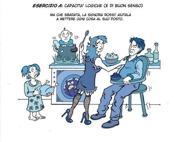 Striscia comica Amica-Nemica - Autore: Costanza Prinetti