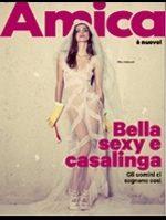 Amica Nemica - Cover della rivista Amica - Bella Sexy e Casalinga
