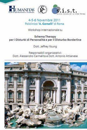 Workshop Internazionale Schema Therapy Roma