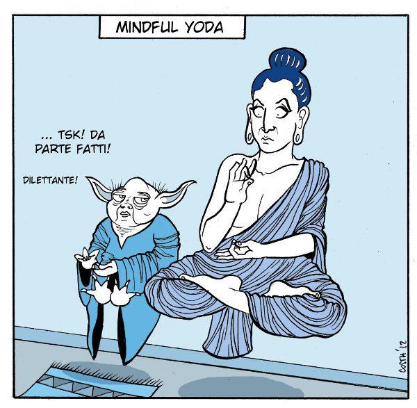Psicologia di Guerre Stellari 2: Mindful Yoda - Immagine: © 2012 Costanza Prinetti