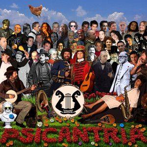 Psicantria - Copertina disco -