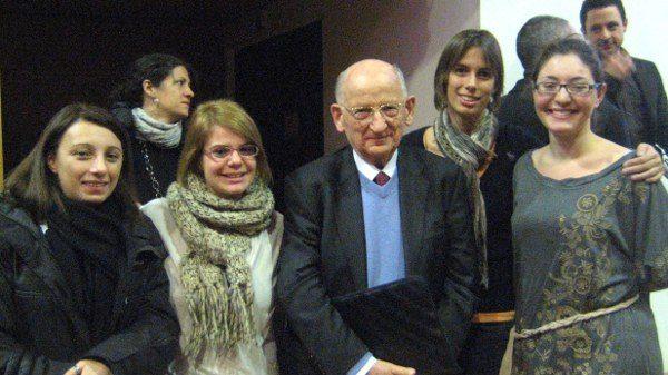 Le reporters di State of Mind con il Prof. Otto Kernberg, sabato 28 gennaio 2012 all'Università Milano-Bicocca. - Immagine: © 2012 State of Mind