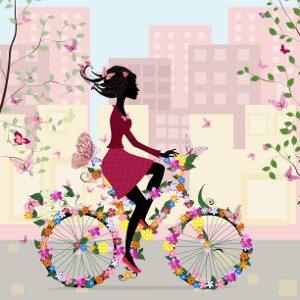 Le donne, l'ansia e la bicicletta. Immagine: © Ksym - Fotolia.com -