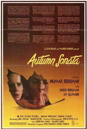 Sinfonia d'Autunno: Bergman ci insegna la ciclicità delle emozioni. - Immagine: Poster Cover from 1978 Movie: Autumn Sonata