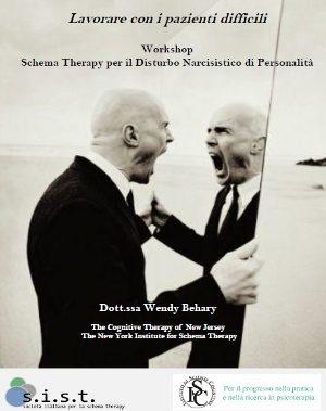 Workshop Schema Therapy per il Disturbo Narcisistico di Personalità - Relatrice: Wendy Behary.