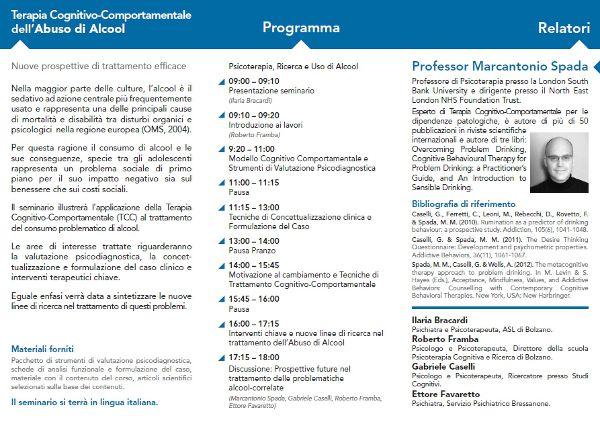 Bolzano seminario alcool 2