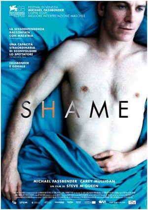 Dipendenze Amorose e Sessuali: Shame, di Steve McQueen. - Immagine: The poster art copyright is believed to belong to Fox Searchlight Pictures.