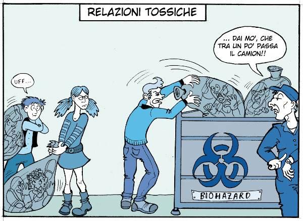 Relazioni Tossiche: un Rischio per la Salute come il Junk Food. - Immagine: © 2012 Costanza Prinetti