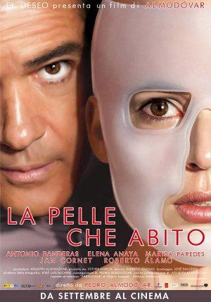 """Recensione di """"La pelle che abito"""" di Pedro Almodovar. - immagine: locandina cinematografica"""