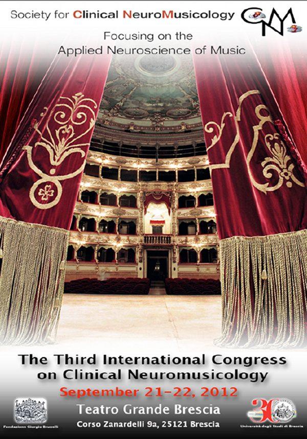 Clinical Neuromusicology: 3° Congresso Internazionale - Brescia