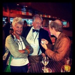 Tom Borkovec, Sandra Sassaroli & Giovanni Maria Ruggiero @ EABCT 2012 - Geneva