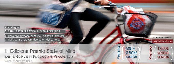 PREMIO State of Mind 2014 per la Ricerca in Psicologia e Psicoterapia