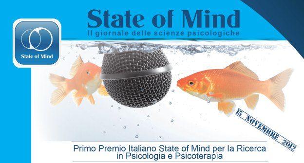 Premio State of Mind 2012 per la Ricerca in Psicologia e Psicoterapia -