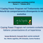 Il Coping Power Program nel Trattamento dei Disturbi da comportamento dirompente in età evolutiva