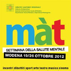 La settimana della salute mentale a Modena - 2012