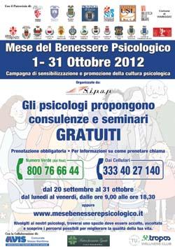 Mese del Benessere Psicologico - 2012