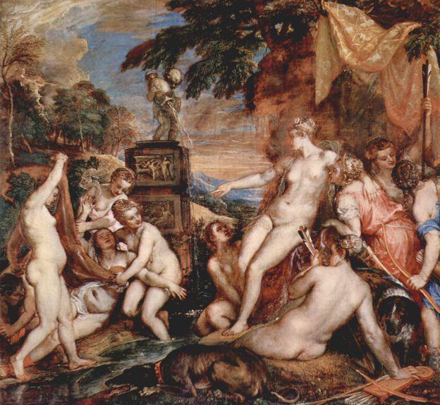 """Tiziano, """"Diana e Callisto"""" (1556-1559) Olio su tela. """"Brave"""". La Principessa Ribelle e il Capro Espiatorio – Recensione"""