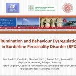 EABCT Geneve - Rumination and Behaviour Dysregulation in BPD
