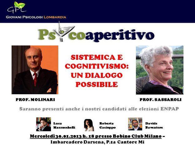 Psicoaperitivo GPL 30 Gennaio 2013 Milano - Bobino Club - Molinari & Sassaroli