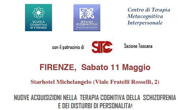 Seminario 11 Maggio 2013, Firenze – Disturbi di Personalità & Schizofrenia