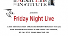 Cronache dal Friday Night Live @ Albert Ellis Institute, New York