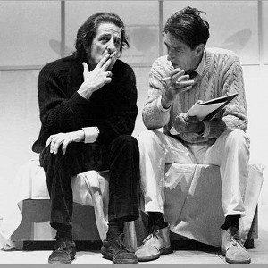 Giorgio Gaber e Sandro Luporini- La lezione psicologica. -Immagine: www.sandroluporini.it