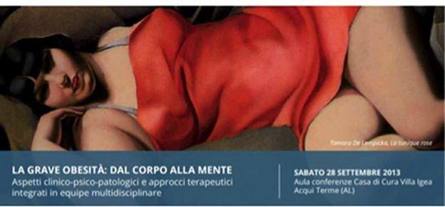 Report dal convegno:  La grave obesità:dal corpo alla mente - LOCANDINA