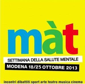 Màt 2013 - Settimana della salute Mentale