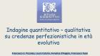 Indagine su credenze perfezionistiche in età evolutiva – Assisi 2013