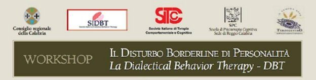 Workshop - Disturbo borderline di personalità e DBT