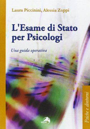 L'esame di stato - Piccinini e Zoppi. -Immagine: copertina