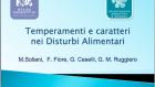 Temperamenti e Caratteri nei Disturbi Alimentari – Assisi 2013