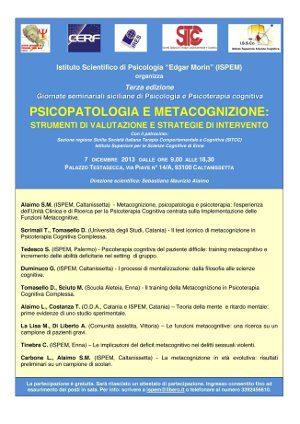 Locandinaa Giornate Seminariali 2013 Master
