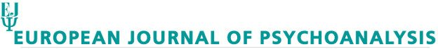 ejpsy - logo - European Journal of Psychoanalysis