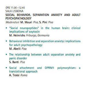 SOPSI 2014 - Simposio Social Behavior