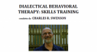 Dialectical Behavioral therapy (DBT): Skills Training – Report