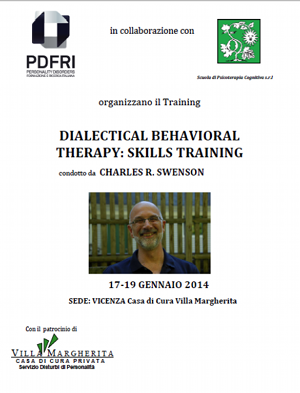 Dialectical Behavioral therapy: Skills Training - Locandina