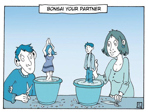 Immagine: Il sogno rigido - Bonsai your partner – © 2014 Costanza Prinetti