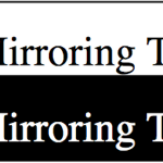 Self Mirroring therapy - Genova