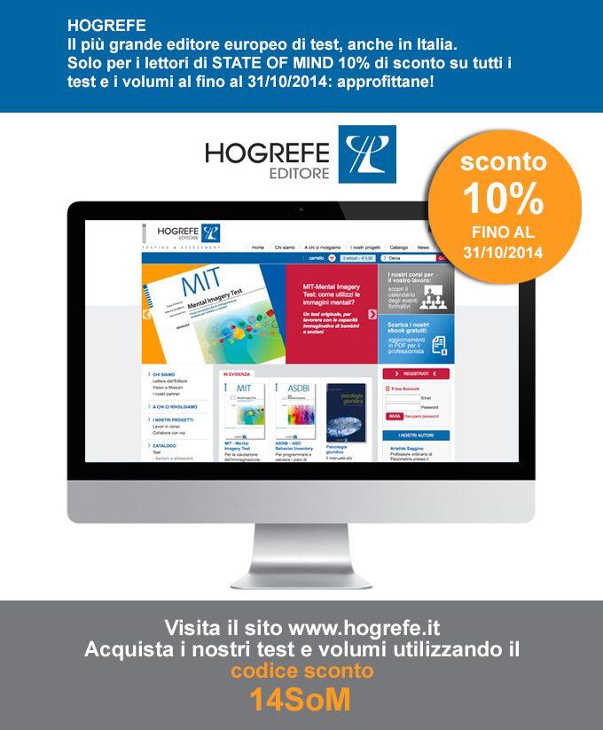 HOGREFE Editore - Promozione Sconto 10percento - Landing Page