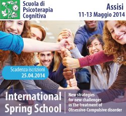 International Spring School: New Strategies for new challenges in the treatment of Obsessive-compulsive disorder  @ La Cittadella (Assisi) | Assisi | Umbria | Italia