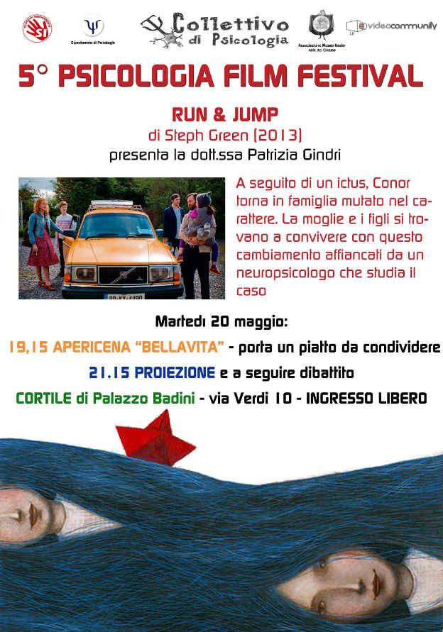 run & Jump 2013 Psicologia film festival Torino