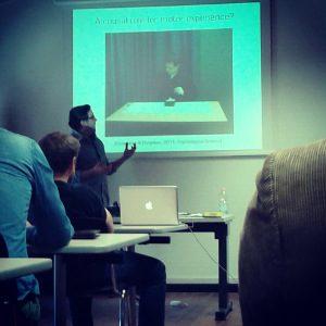Daniel Casasanto - L'origine delle metafore mentali - Seminario a Trento - Giugno 2014 B