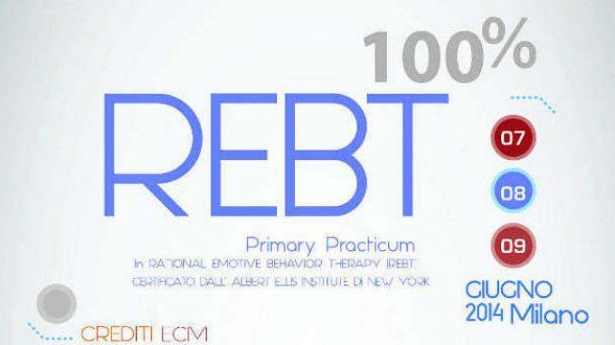 REBT: Report dal Primary Practicum di Milano 2014