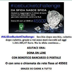ICE BUCKET CHALLENGE AISLA